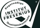 INSTITUT FRESENIUS Regelmäßige Qualitätskontrolle